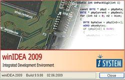 WinIDEA2009